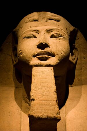 Statue in Egyptian Museum of Turin (the second in the world after the Cairo Museum) Stock Photo - 6429903