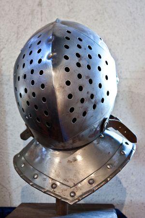 Detail of medieval armour, north Italy, Piemonte,  XIV century photo
