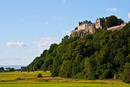 View of Stirling Castle, from the bottom of the hill