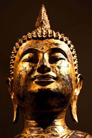 Detail of a Sitting Bodhisattva, 2nd century A.C. - crop composed to be used as icon Stock Photo - 7947839