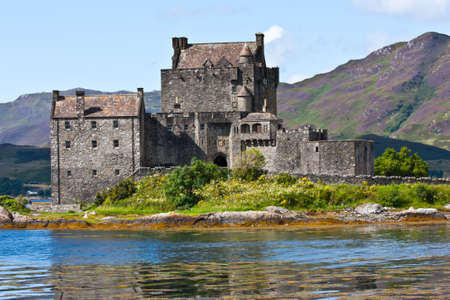 clan: The castle is one of the most photographed monuments in Scotland and a popular venue for weddings and film locations