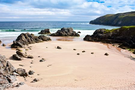 Award winning Durness spectacular beach, Sutherland, Scotland photo