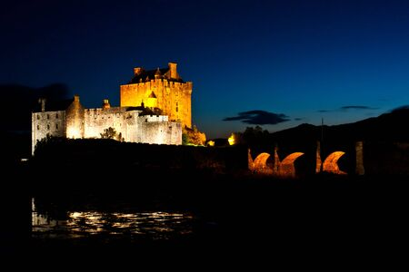The castle is one of the most photographed monuments in Scotland and a popular venue for weddings and film locations photo