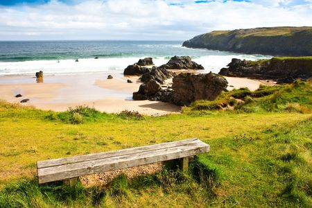 Award winning Durness spectacular beach, Sutherland, Scotland