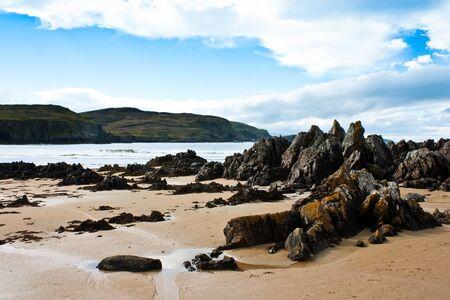 scottish: Award winning Durness spectacular beach, Sutherland, Scotland