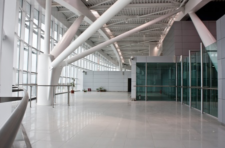 hall: New euro60 million (US$84 million) second terminal at the capitals main airport Editorial