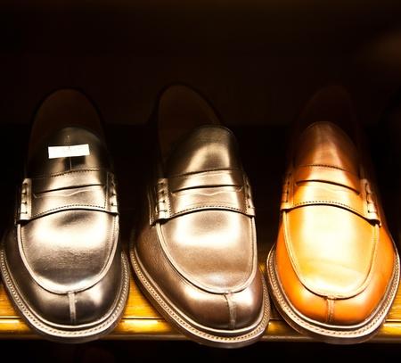 Italienische Schuhe Lizenzfreie Bilder