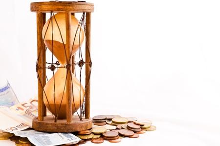 古い砂時計 (インド、XIX 世紀) ユーロ