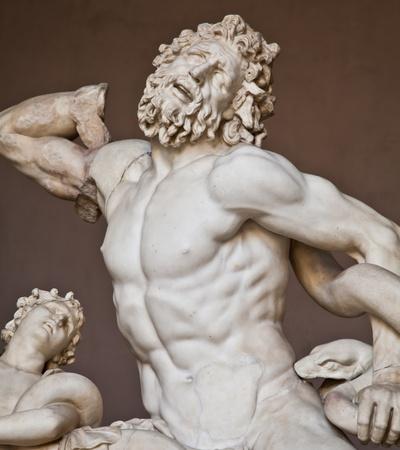 arte greca: Musei Vaticani, Roma, Italia: raccolta di statue