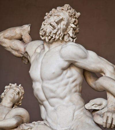 Vatican Museums, Rome, Italy: collection of statues photo