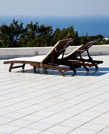 Terrace on Naples Gulf: two seats with a wonderful view