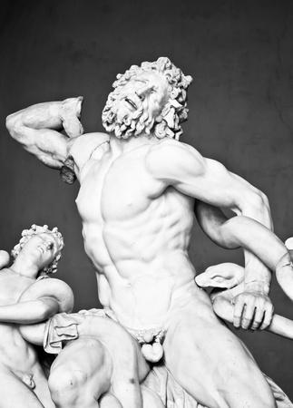 Vatican Museums, Rome, Italy: collection of statues