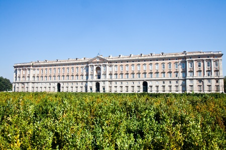 Reggia di Caserta (Caserta Royal Palace) during a sunny day