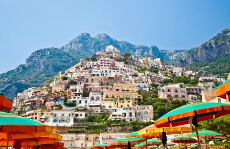 Positano is a village and comune on the Amalfi Coast (Costiera Amalfitana), in Campania, Italy. photo
