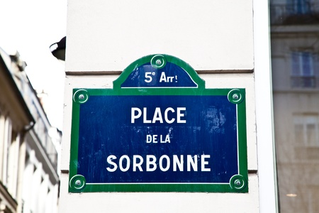 In Sorbonne street is located La Sorbonne, ne of the oldest University of the world, founded in 12th century