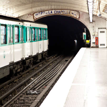 One of the oldest metro station in Europe - Paris underground