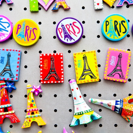 tour eiffel: The tipical souvenir you can find in every single shop of Paris Editorial