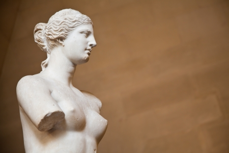venus: Statue of the Greek goddess Aphrodite, discovered on the island of Melos (Milo, in modern Greek), Louvre Museum, Paris