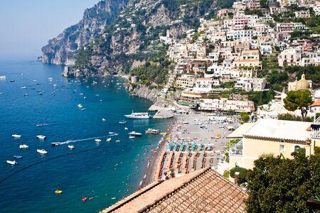 Panoramic view of Minori, wonderful town in Costiera Amalfitana - Italy Stock Photo - 13125455