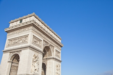The Arc de Triomphe  photo