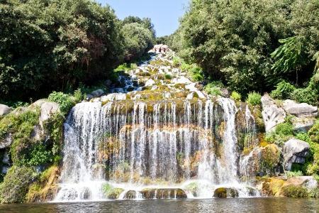 Famous Italian gardens of Reggia di Caserta, Italy. Stock Photo - 13851853