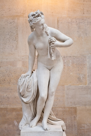 naked statue: The perfect feminine beauty in this copy of a classical Greek statue