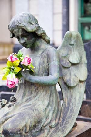 ヨーロッパの墓地で最も美しいと移動のアーキテクチャ例のコレクション 写真素材