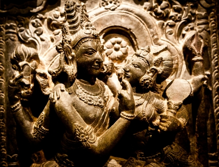 North-East India, X Century A.D., Basalt Stock Photo - 15538889