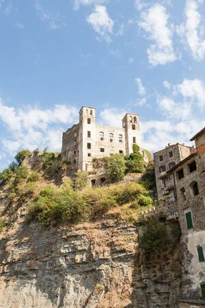 Italy, Liguria Region, Dolceacque Medieval castle, Doria family, 13th century