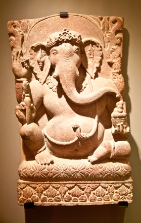 Tipical iconic statue of Induism religion, Ganesh (also said Ganesha) Stock Photo - 17312219