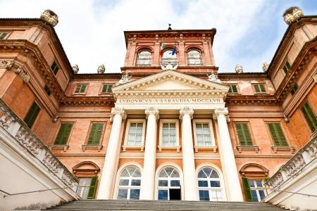 racconigi: Italy - Piemonte region. Racconigi Royal Castle entrance Editorial