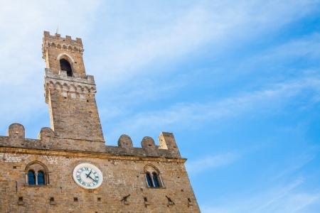 priori: Italia, Toscana, Volterra. Palazzo dei Priori edificio Archivio Fotografico