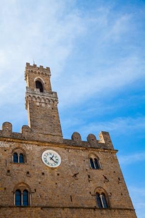 volterra: Italy, Tuscany, Volterra. Palazzo dei Priori building