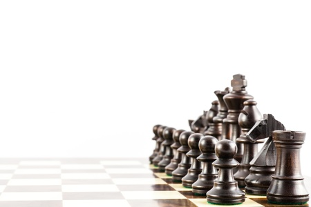 challange: Concept for challange with elegant Stauton style chess pieces