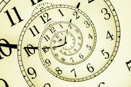 hypnotique: D�tail d'une horloge m�canique utilis� avec quadrant hypnotique, un concept tr�s flexible