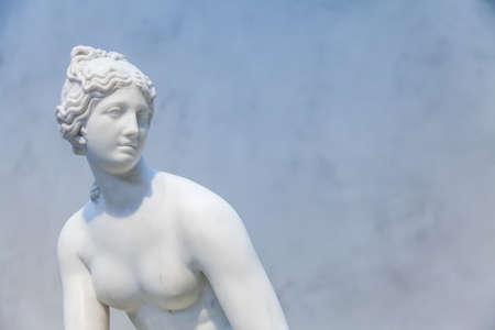 Sensual pose for this neoclassical copy of Venus photo
