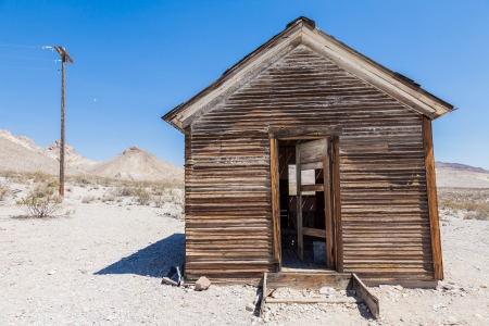 Rhyolite is a ghost town in Nye County, in the U.S. state of Nevada photo