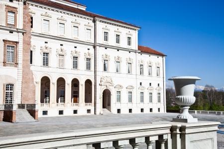 reale: Italy - Reggia di Venaria Reale. Luxury royal palace Stock Photo