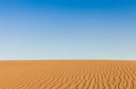 Sand dunes of Mesquite Flat in Death Valley Desert - California photo