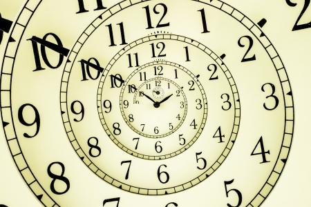 催眠象限儀、非常に柔軟なコンセプトで使用される機械時計の詳細 写真素材