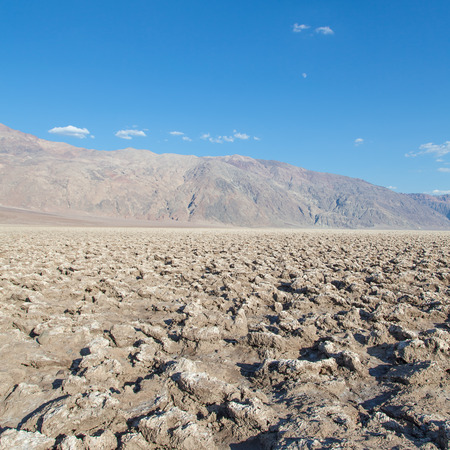 golf of california: Death Valley, California. The Devils Golf Course point in the middle of the desert.