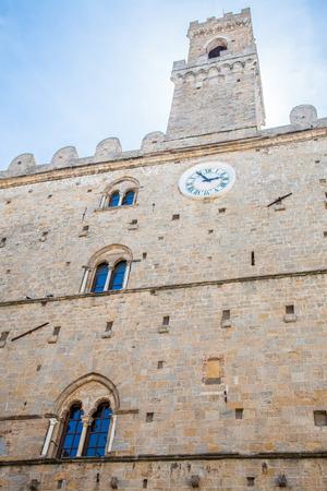 priori: Italy, Tuscany, Volterra. Palazzo dei Priori building