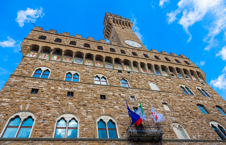 town halls: The main landmark of Florence. This massive, Romanesque, fortress-palace is among the most impressive town halls of Tuscany