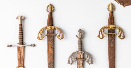 xvi: Spanish sword collection detail, sigle XVI