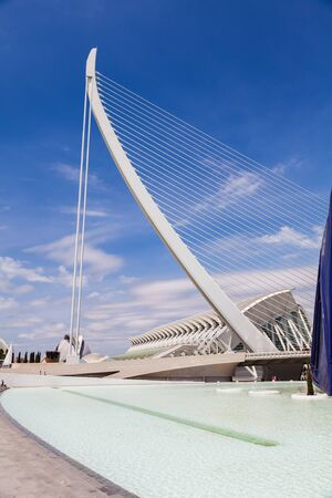 sciences: The City of Arts and Sciences of Valencia, Spain Stock Photo