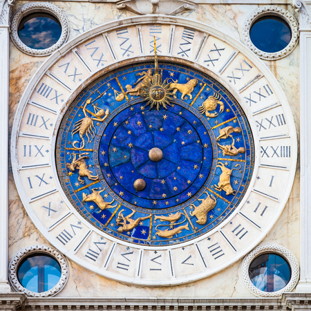 astronomical: Venice Sant Marks Square astronomical clock face