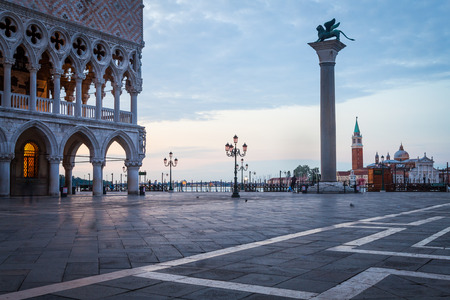 Venice, Italy - Piazza San Marco at sunrise