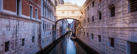 One of the most famous landmark in Venice, Ponte dei Sospiri