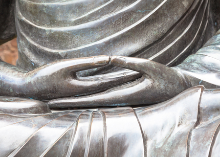 Dhyana, or Samadhi mudra, is the hand gesture that promotes the energy of meditation, deep contemplation and unity with higher energy.