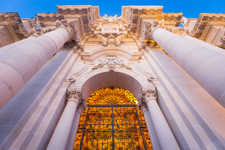 The Cathedral of Syracuse (Duomo di Siracusa) is an ancient Catholic church in Syracuse, Sicily